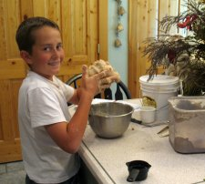 Children Cooking from Scratch