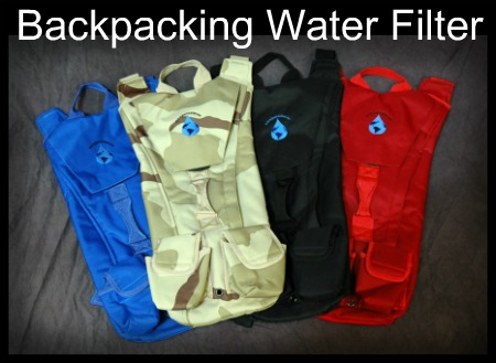 Backpacking Water Filter