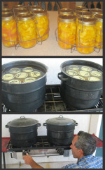 How to Use Boiling Water Canner - one