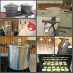 Canning Equipment Collage
