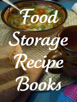 Food Storage Recipe Books