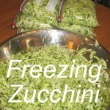 Freezing Zucchini