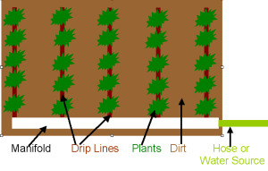 Drip System Diagram