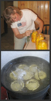 Processing Peaches in Boiling Water Canner