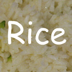 Recipes for Rice
