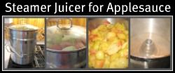 Using a Steamer Juicer for Making Applesauce