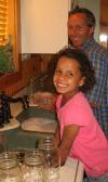 Canning Beets - Washing Jars