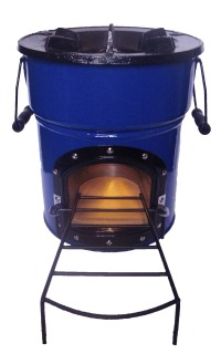Wood Burning Rocket Stove