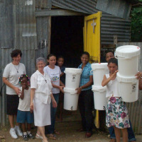 Using Gravity Water Filter in Dominican Republic