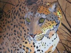Oil Painting Leopard