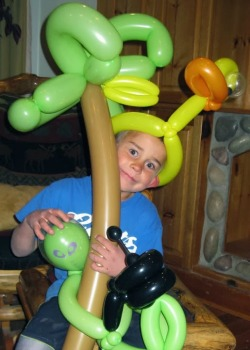 Professional Balloon Twister's little brother