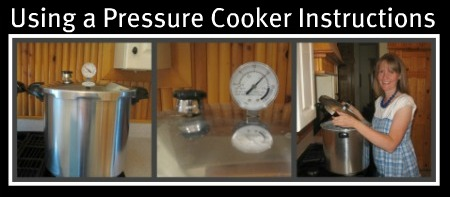 Pressure Cooking Instructions