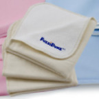 Double sided cloth baby wipes