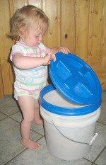 Food Storage Bucket with Gamma Lid