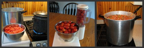 Canning Spaghetti Sauce Step by Step
