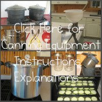 Canning Equipment link