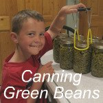 Canning Green Beans Link