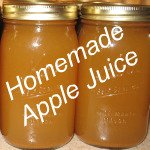 Homemde Apple Juice Link