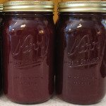 Canned Grape Juice in Jars