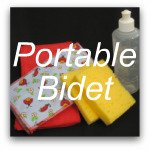 Emergency Toilet Paper Kit - Portable Bidet