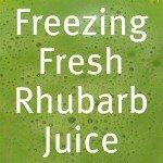 Rhubarb Juice Link