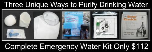 Shopping Water Purification Methods Kit