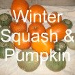 Storing Fresh Winter Squash
