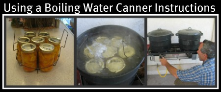 Using a Boiling Water Canner