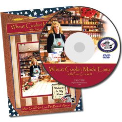Wheat Cookin' Made Easy on DVD